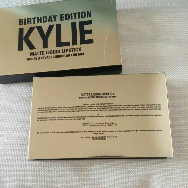Kylie Birthday Edition - Matte Lipstick
