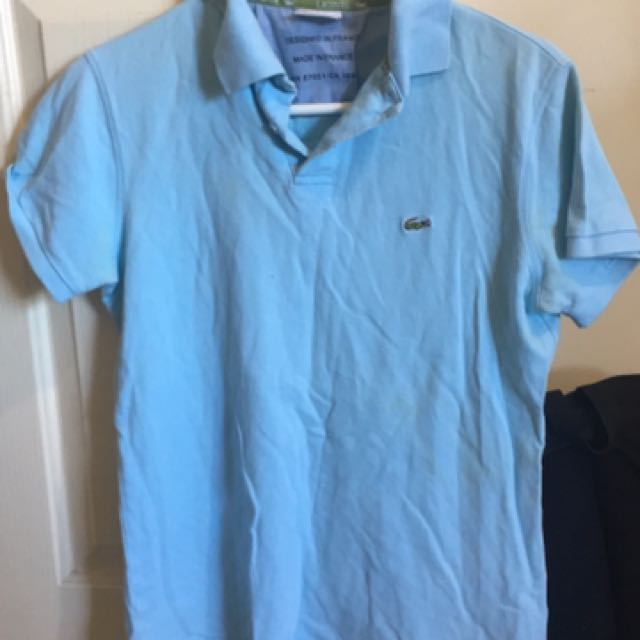 Lacoste Polo (2 for $40)