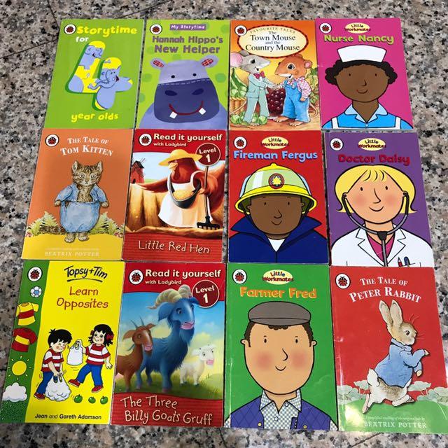 Ladybird 系列 英文書籍,共12本,一起賣