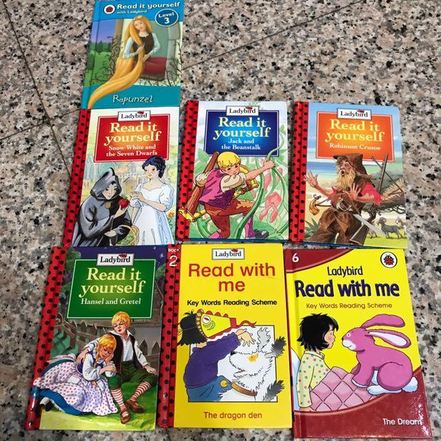 Ladybird 系列 英文書籍,共7本,一起賣