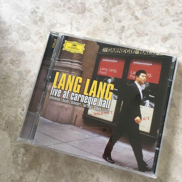 Lang Lang At Carnegie Hall