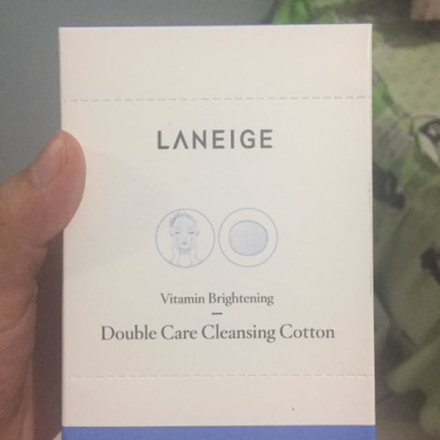 Laniege Double Care Cleansing Cotton