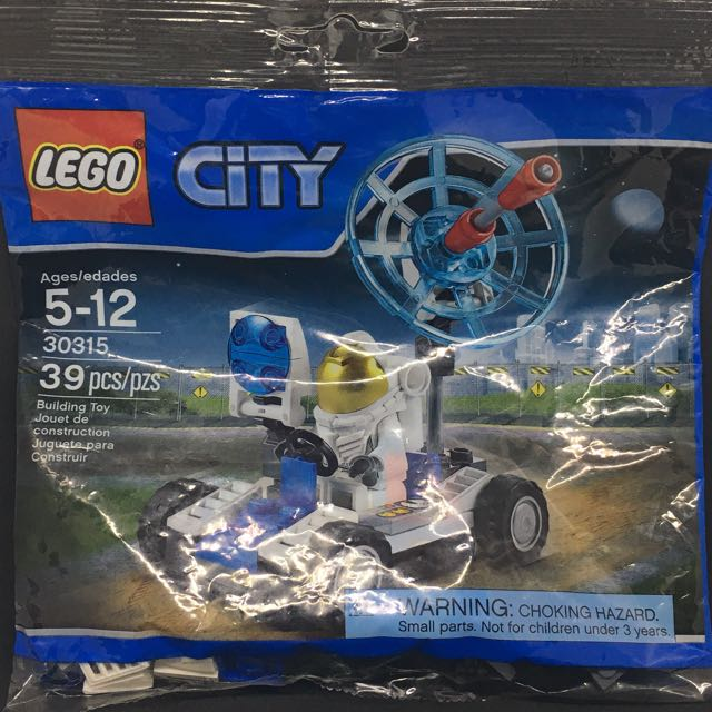 Lego City Space Utility Vehicle Polybag