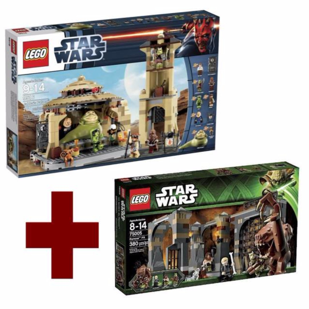 Lego Star Wars 9516 Jabbas Palace 75005 Rancor Pit Toys Games