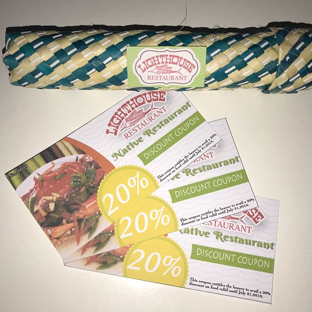20% discount Lighthouse Restaurant
