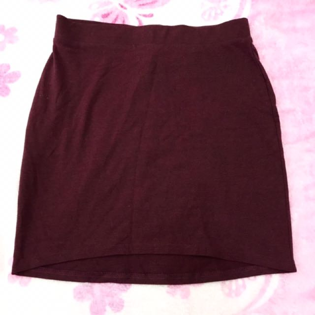Longback Skirt H&M On Tag