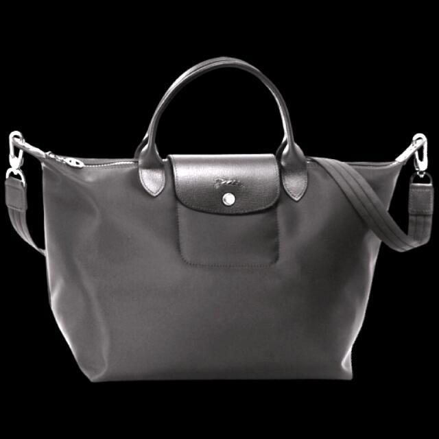 1847e8958c2e Longchamp Le Pliage Neo Large Nylon Tote Bag (Black)