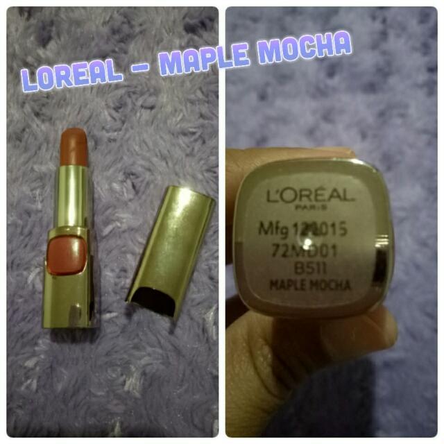 Loreal Lipstick - Maple Mocha