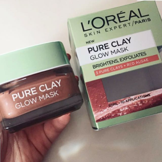Loreal Red Pure Clay Mask - Face Mask