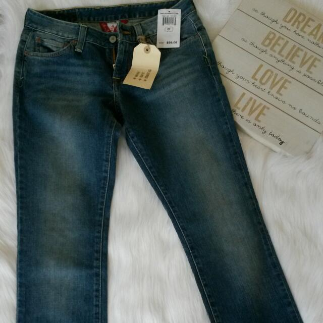Lucky Brand Lola Boot Cruvy Fit Jeans/Denim