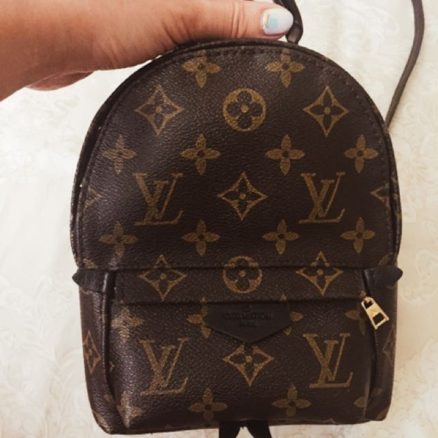 LV mini backpack 現貨 後背包