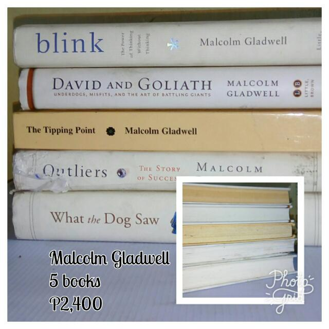 Malcolm gladwell blink tipping point what the dog saw outliers photo photo photo fandeluxe Image collections