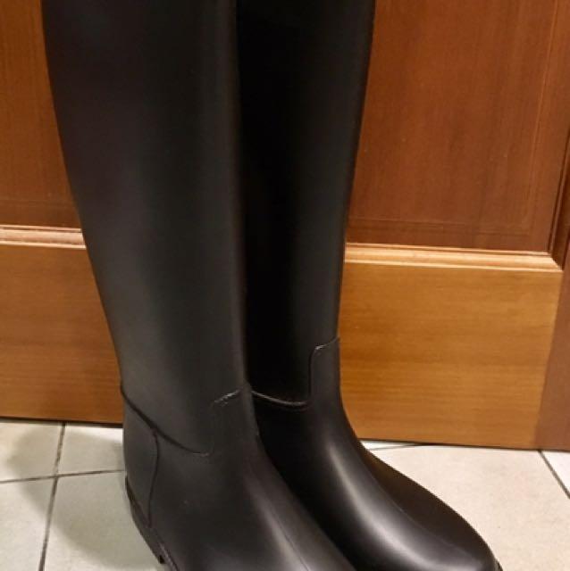 Méduse®素色長靴FLAMBOR款(沉穩黑)