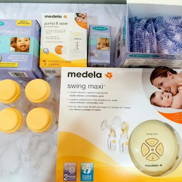 602b399844d511 Medela Swing Maxi, Babies & Kids, Nursing & Feeding on Carousell