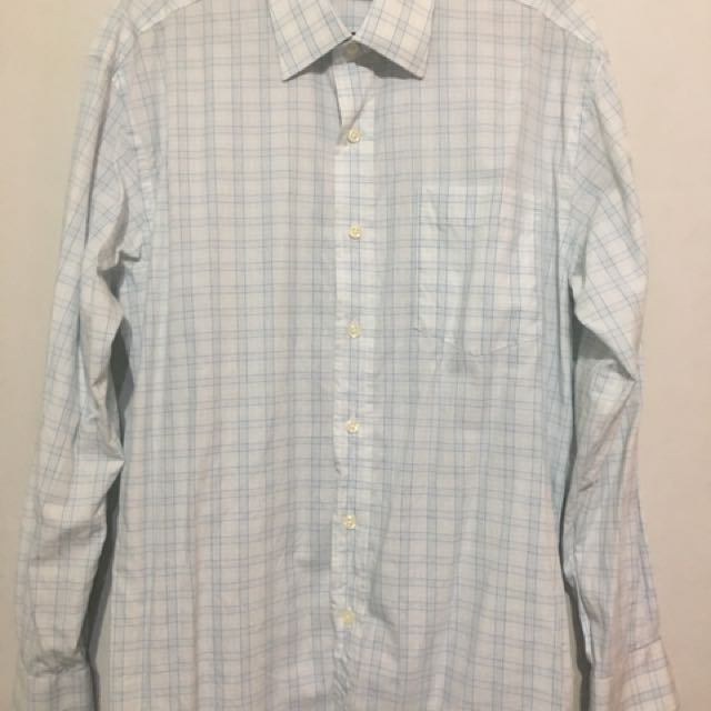 Men's Checkered Long Sleeves