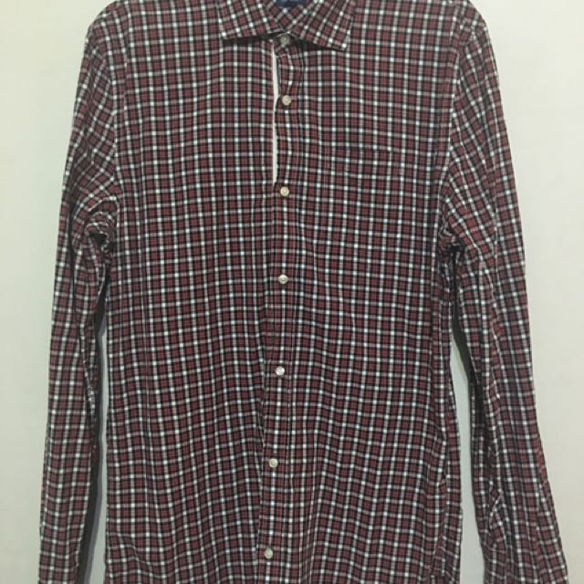 Men's Plaid Long Sleeves