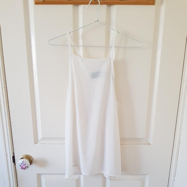 Minkpink White Top Size 8/S