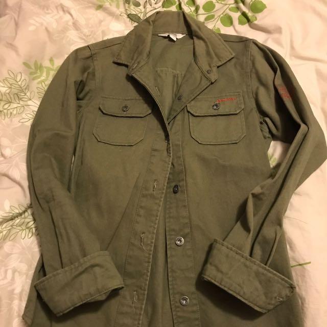 Mossimo khaki Shirt