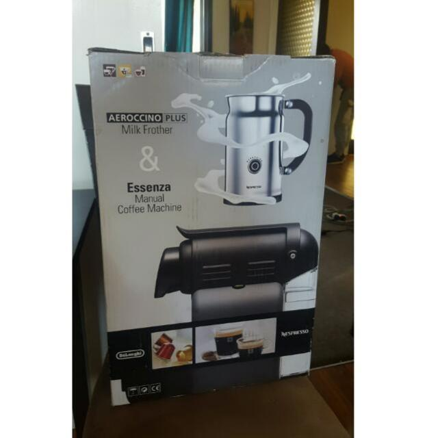 Brand New Nespresso Coffee Machine + MILK FROTHER