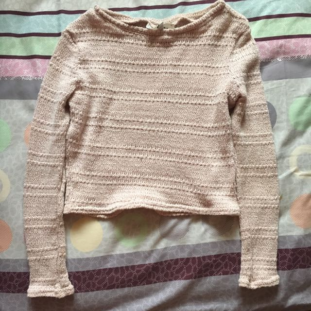 New Look Crop Sweater