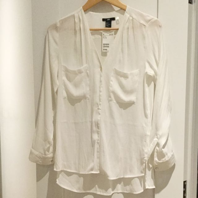 New White Button Up Shirt