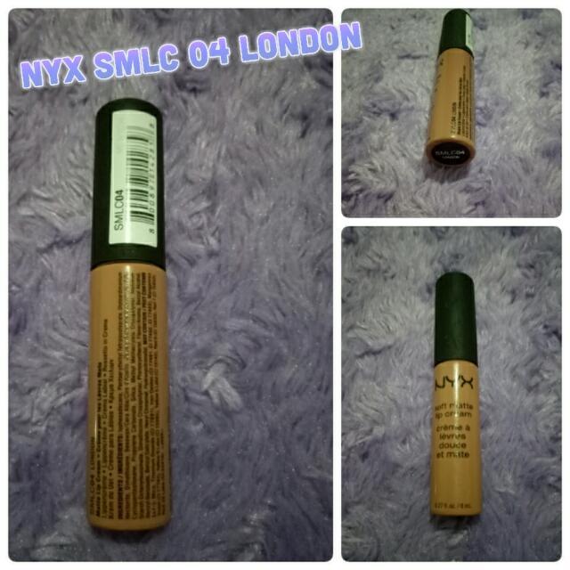 Nyx Soft Matte Lip Cream - 04 London