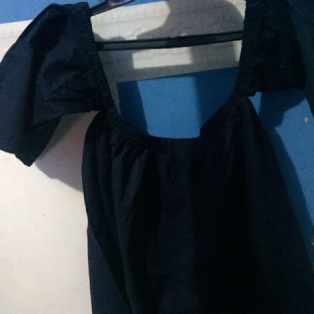 Off Shoulders (navy blue)