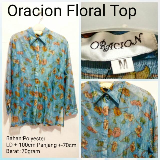 Oracion Floral Top  2e5a846089