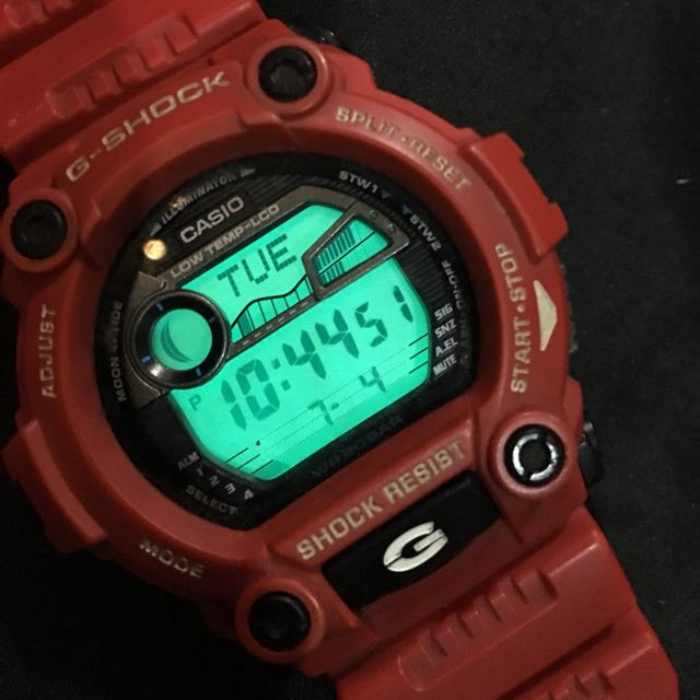 Original CASIO Gshock Watch (red)
