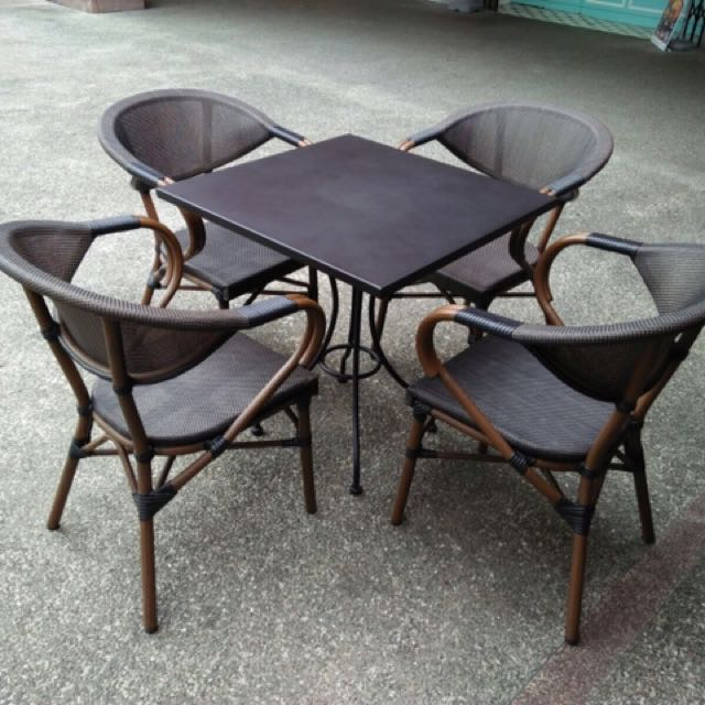 Outdoor Table Chair Set 8 Sets Furniture Tables Chairs On