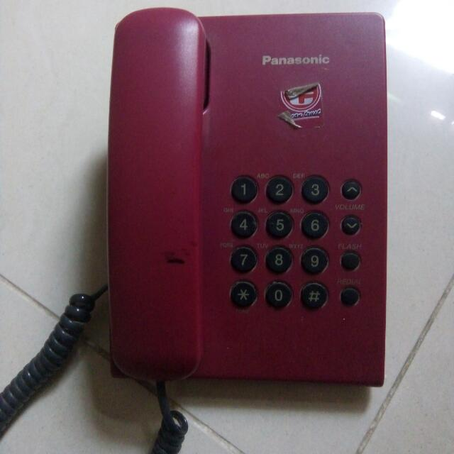 Panasonic Fixed Telephone