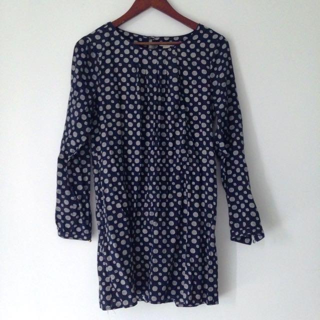Patterned F21 Dress
