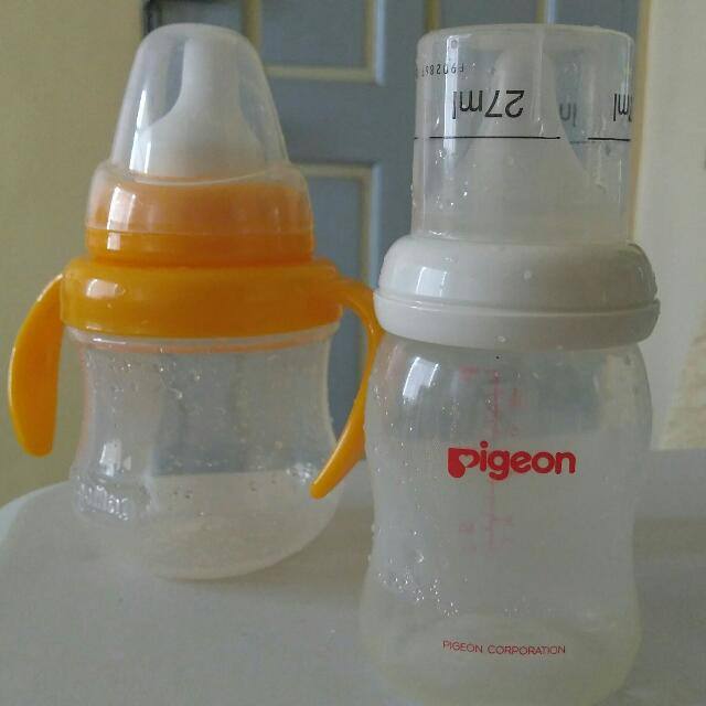 Pigeon feeding bottle and Pigeon sippy cup