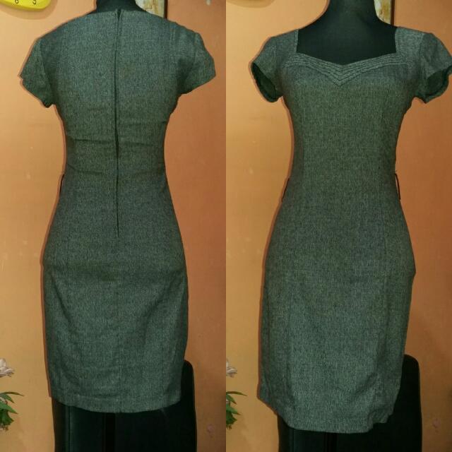 ⭐SALE⭐Preloved Premium Grey Dress