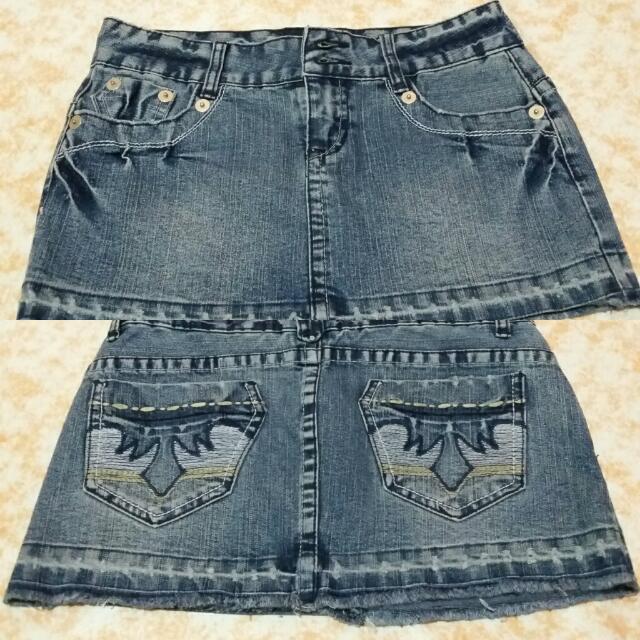 Preloved Denim Skirts
