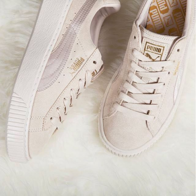 premium selection 1b57c 897ef Puma Suede Satin Platform Shoes (PO)