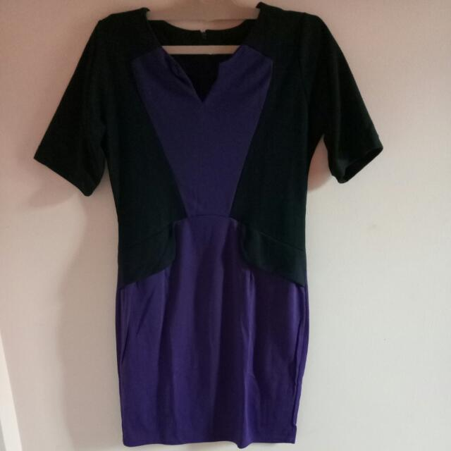 Purple Dress - reprice