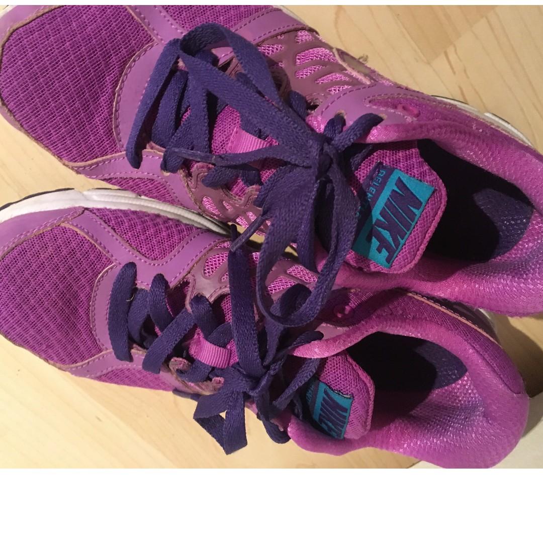 Purple Nike Gym Trainers
