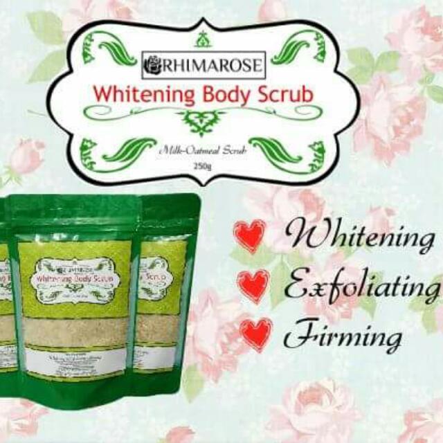 Rhimarose Whitening Scrub