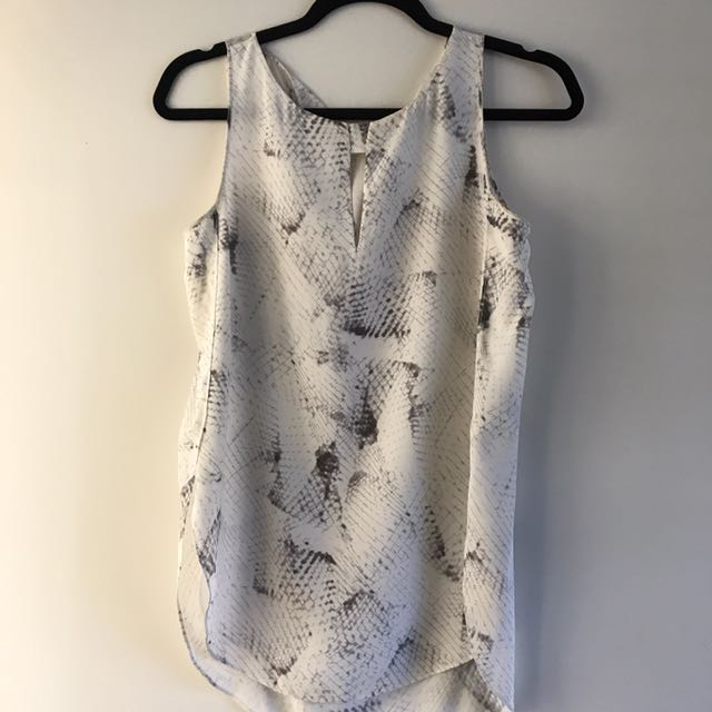 Saba Short Sleeve Silk Top