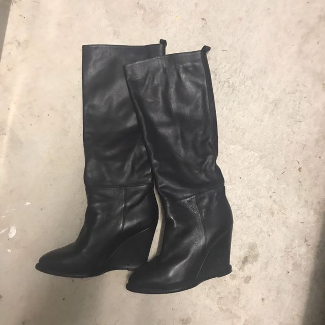 Scanlan And Theodore Leather Boots