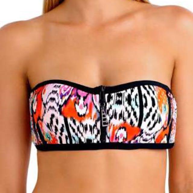 Seafolly Beach Gypsy Bandeau Bikini Top 12