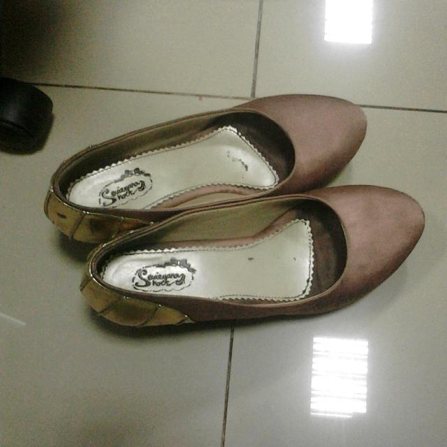 Sepatu Handmade Platform Heels Size 40 - 41