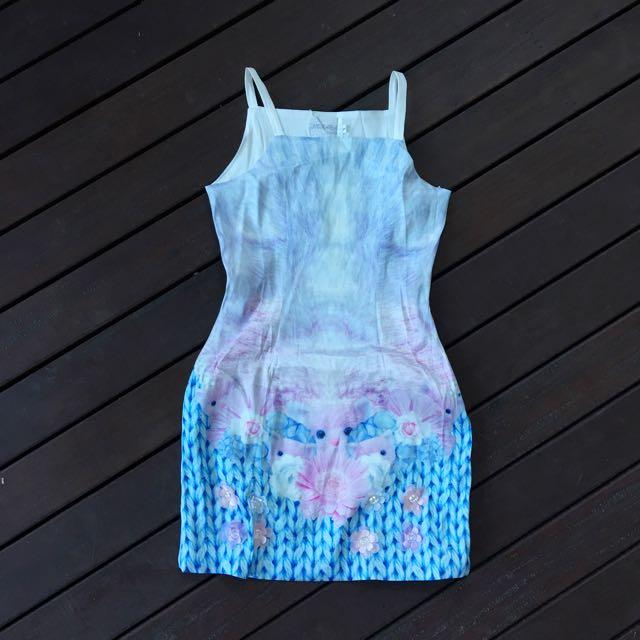 Sleeveless Mermaid Dress