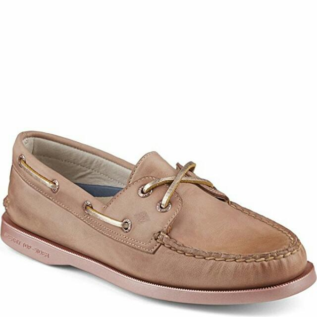 b97240ec6547 Sperry Top-Sider A O 2-Eye Bling Boat Shoes (Rose Gold)