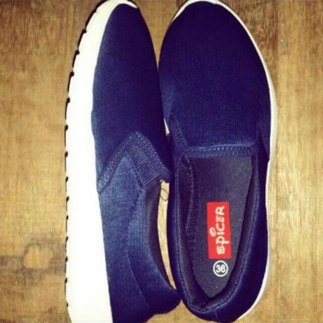 Spicer Blue Sandals