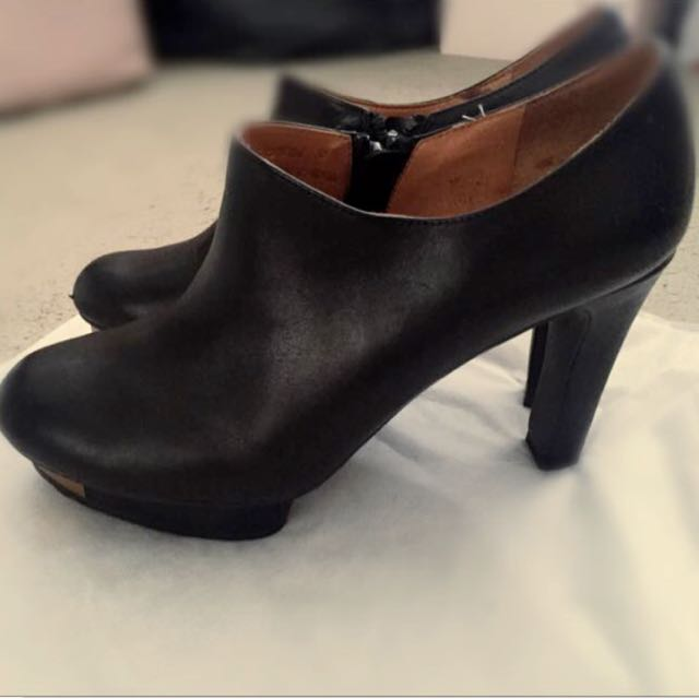 STACCATO SOFT LEATHER BOOTS
