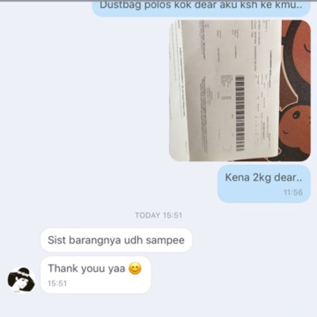 Testi From Our Pretty Customer 💕💕