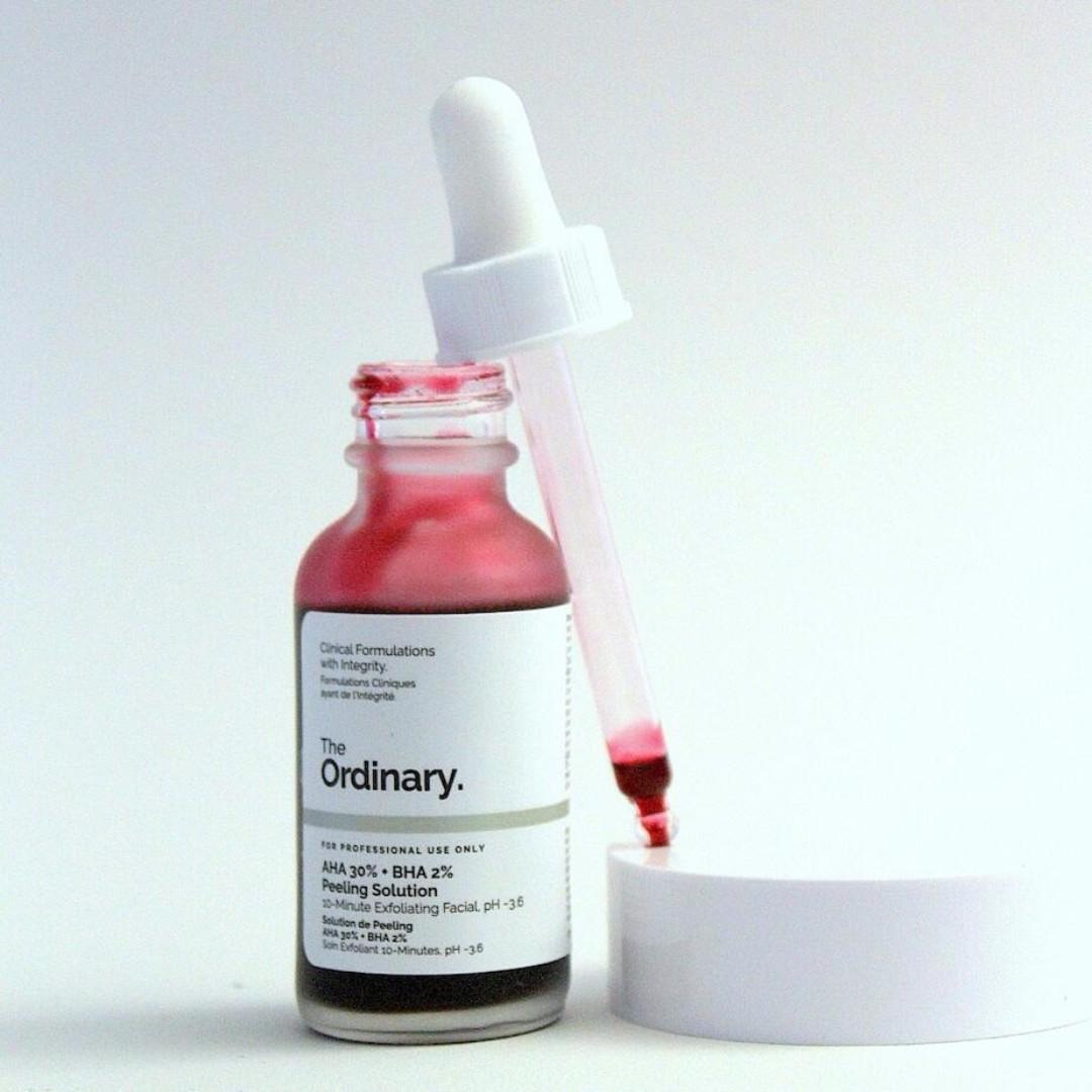 Hasil gambar untuk The Ordinary AHA 30% + BHA 2% Peeling Solution
