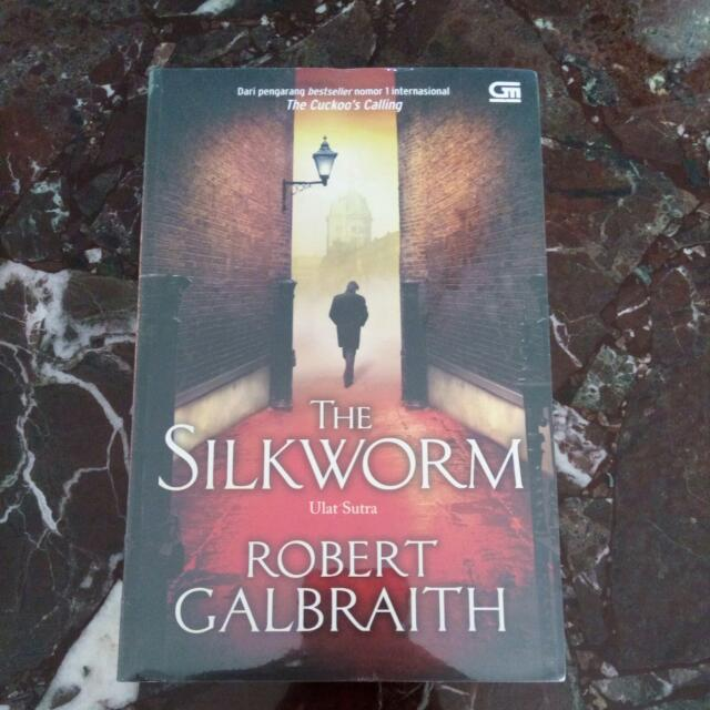 The Silkworm By Robert Galbraith (a.k.a JK Rowling)